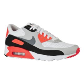 Nike Men's Air Max 90 Essential Ultra Shoes - Grey/Orange/Black