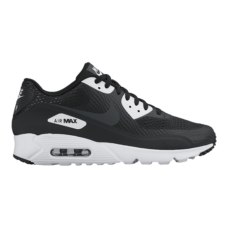 brand new e569f 44aac Nike Men s Air Max 90 Essential Ultra Casual Shoes - Black White   Sport  Chek