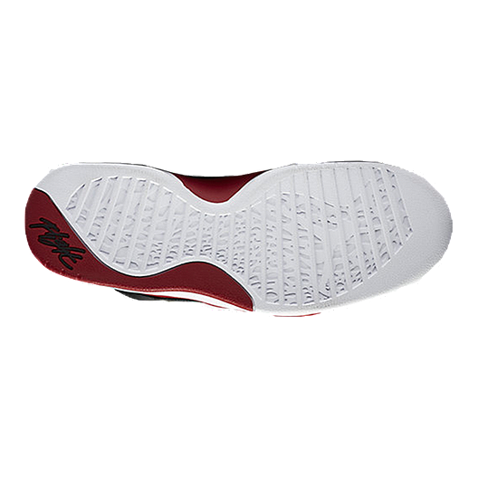 2c7864cf6c9d Nike Men s Jordan Flight Tradition Basketball Shoes - Black Red ...