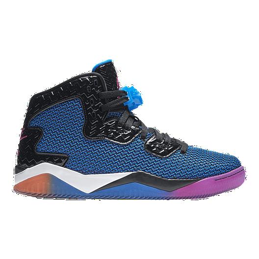 8758ba26ca2f Nike Men s Jordan Spike 40 Basketball Shoes - Blue Black Pink ...