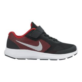 Nike Kids' Revolution 3 Preschool Running Shoes - Red/Black/White