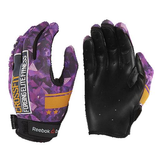New York innovatives Design am besten bewerteten neuesten Reebok Crossfit Women's Gloves - Purple
