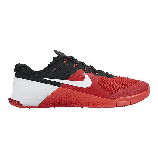 best cheap 8545b efc17 Nike Men s Metcon 2 Training Shoes - Red White Black   Sport Chek