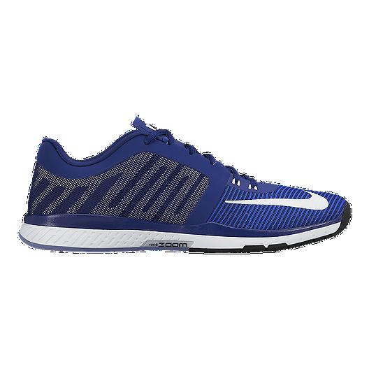 best service fe743 72b48 Nike Men s Zoom Speed TR 3 Training Shoes - Blue White   Sport Chek