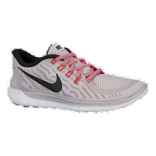 070da6fcc70a4 Nike Women s Free 5.0 2015 Running Shoes - Grey Pink Black