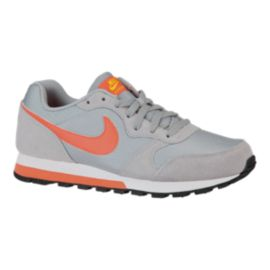 Nike Women's MD Runner WLF  Shoes - Grey/Orange