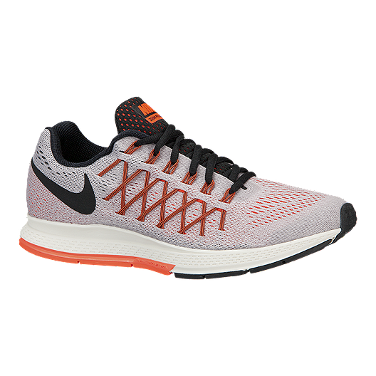 low cost 71066 4b124 Nike Women s Air Zoom Pegasus 32 Running Shoes - Light Grey Orange Black    Sport Chek