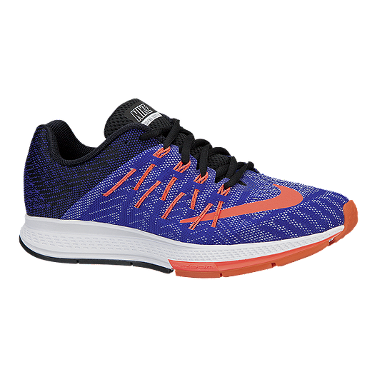 l'ultimo qualità eccellente prezzo ragionevole Nike Women's Air Zoom Elite 8 Running Shoes - Blue/Orange ...