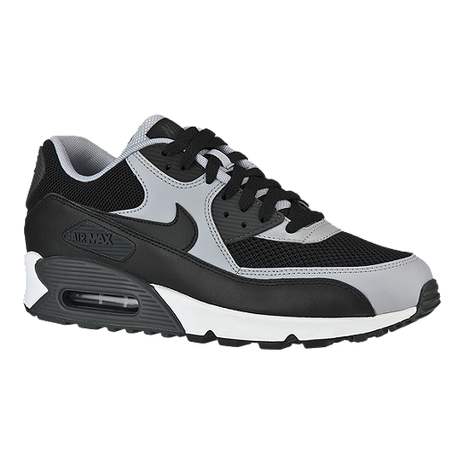 new products 0824d 8dc55 Nike Men s Air Max 90 Essential Casual Shoes - Black Grey   Sport Chek