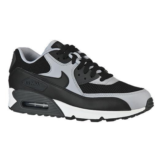 new products 86384 b0ea7 Nike Men s Air Max 90 Essential Casual Shoes - Black Grey   Sport Chek
