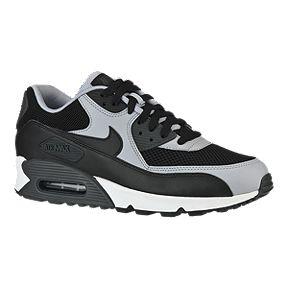 new style 91d6d df8bb Nike Mens Air Max 90 Essential Casual Shoes - BlackGrey