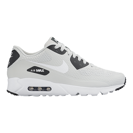 Nike Air Max 90 Ultra Essential Grey White Black Sneakers on