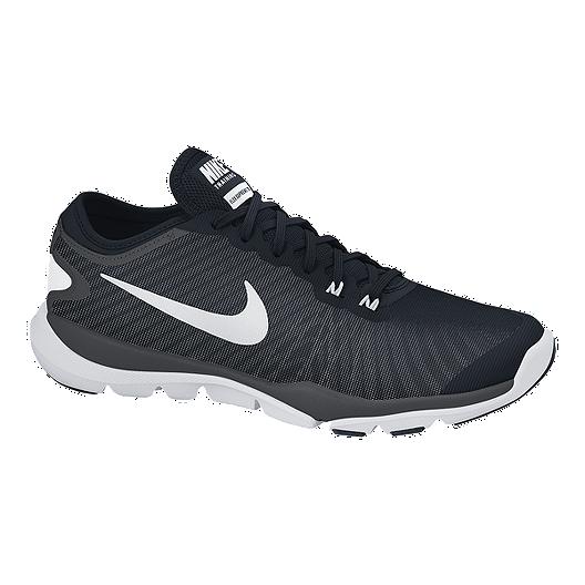 64d20564704b4 Nike Women s Flex Supreme TR 4 Training Shoes - Black White