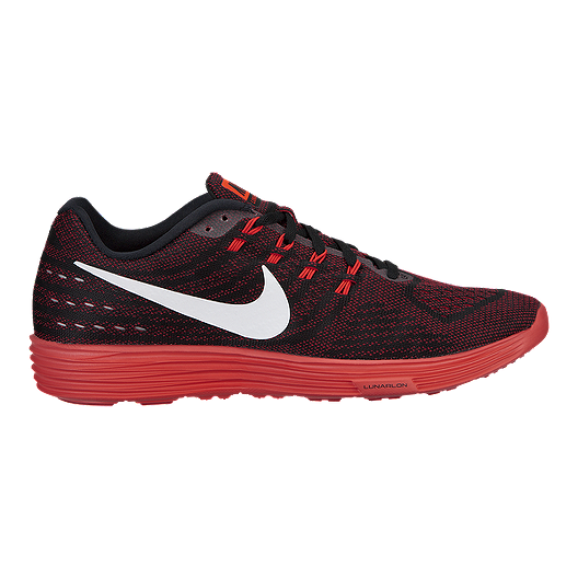 pretty nice f1707 2deea Nike Men s LunarTempo 2 Running Shoes - Red Black