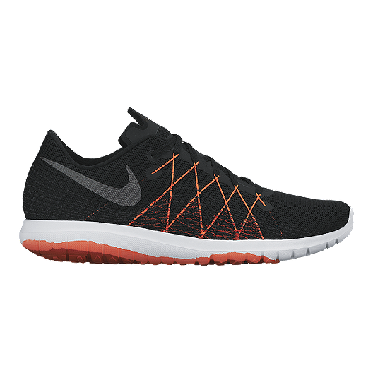 dd259426c3be Nike Men s Flex Fury 2 Running Shoes - Black Orange White