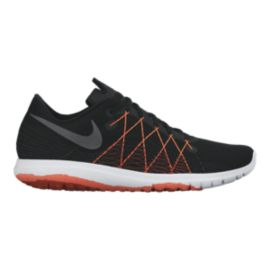 Nike Men's Flex Fury 2 Running Shoes - Black/Orange/White