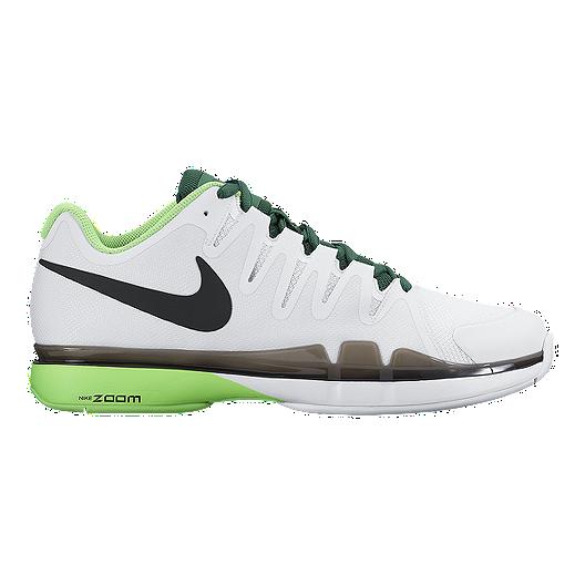 7ebdc64164810 Nike Men's Zoom Vapor 9.5 Tour Tennis Shoes - White/Green/Black | Sport Chek