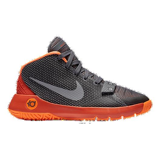 reputable site b533b 7057b Nike Kids  KD Trey 5 III Grade School Basketball Shoes - Anthracite Silver  Orange   Sport Chek