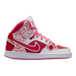 Nike Son of Force Mid Girls' Grade-School Basketball Shoes