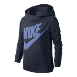 Nike Girls' Rally Funnel Neck Hoodie