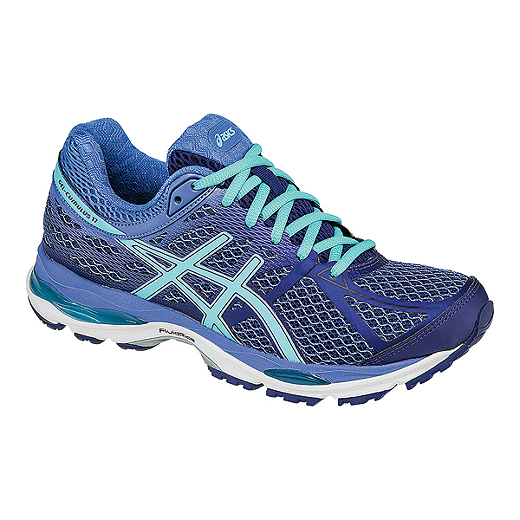 Chek Running 17 Cumulus Women's Shoes BlueSport Asics Gel WEH9ID2