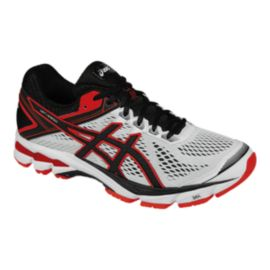 ASICS Men's GT-1000 4 Running Shoes - White/Black/Red