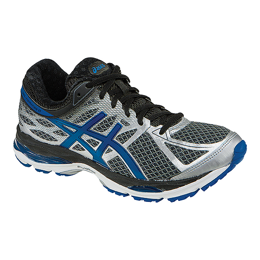 9ff4ac5c199 ASICS Men s Gel Cumulus 17 Running Shoes - Dark Grey Blue
