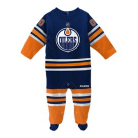 Edmonton Oilers Baby Long Sleeve Coverall