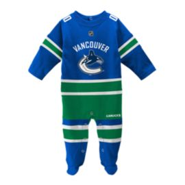 Vancouver Canucks Baby Long Sleeve Coverall