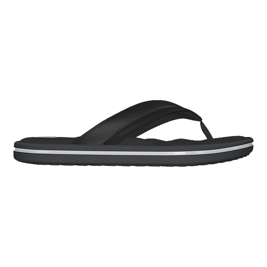 0f269653af57 adidas Men s Zeitfrei Thong Fit Foam Sandals - Black