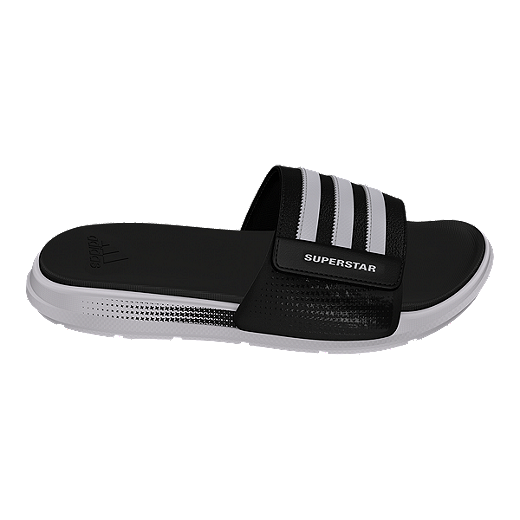 a94198459c22 best price adidas mens superstar 4g b sandals black white c6855 292d5