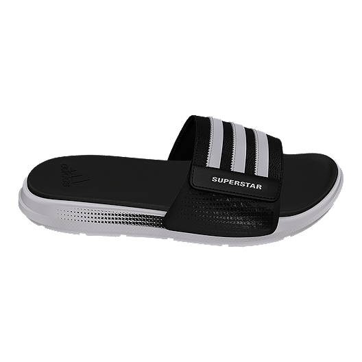 f664ed274417 adidas Men s Superstar 4G B Sandals - Black White