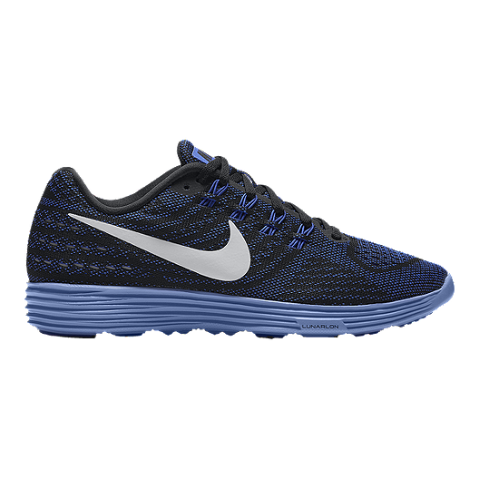 58379b0137af2 Nike Women s LunarTempo 2 Running Shoes - Black Blue