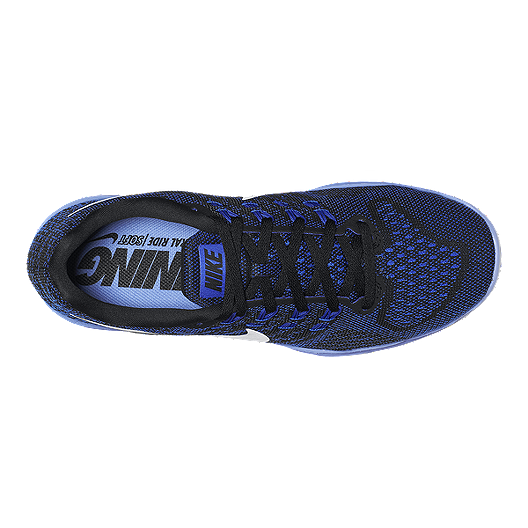 wholesale dealer b50c1 8fd74 Nike Women's LunarTempo 2 Running Shoes - Black/Blue | Sport ...