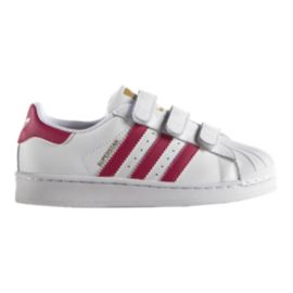 adidas Superstar Girls' Pre-School Casual Shoes