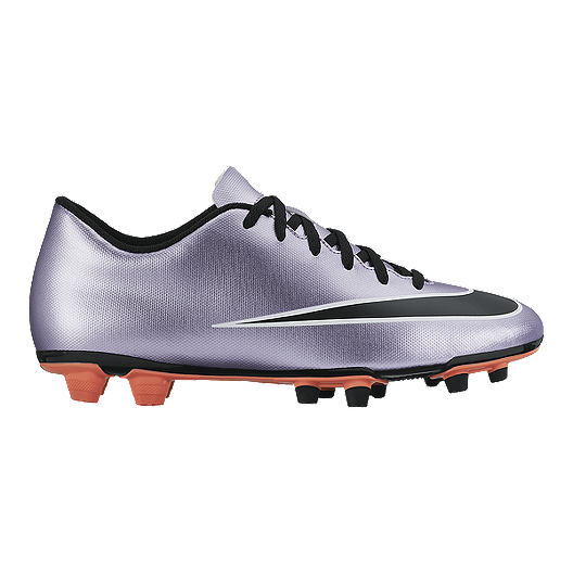 42209e8a0 Nike Men's Mercurial Vortex II FG Outdoor Soccer Cleats - Purple/Black/Silver  | Sport Chek