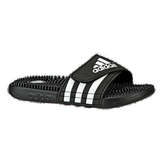 d3c116eab1a9 adidas Kids  Adissage Sandals - Black White