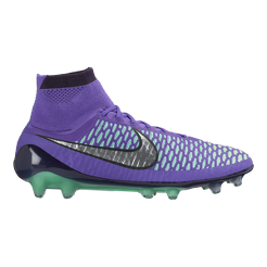 Nike Men s Magista Obra FG Outdoor Soccer Cleats - Purple Silver Blue  2012168cd04a