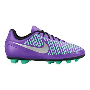 5aef403c14d Nike Kids  Magista Ola FG Outdoor Soccer Cleats - Purple Mint Silver