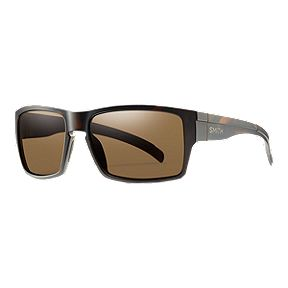 3b565be284f6b Smith Outlier Polarized Sunglasses - Matte Tortoise with Brown Lens