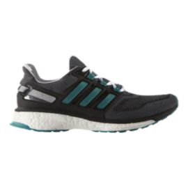 adidas Men's Energy Boost 3 Running Shoes - Grey/Black/Teal
