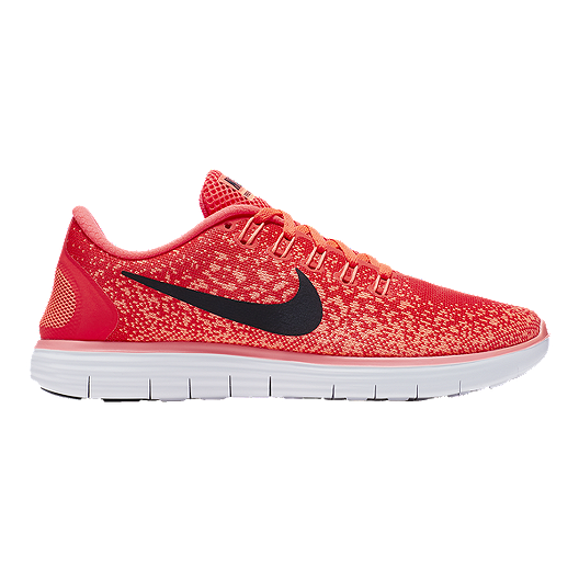 540d5cb92065d Nike Women s Free Run Distance Running Shoes - Red Orange Black ...