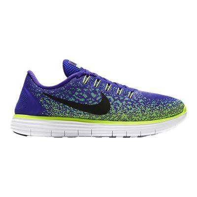 Nike Women's Free RN Distance Running Shoes - Purple/Green/Black