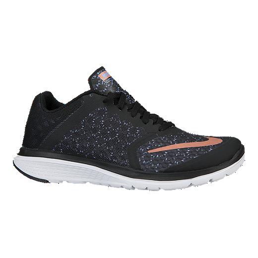 Nike Women FS Lite Run Running Shoes  BlackBluePink