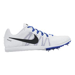 Nike Men s Zoom Rival D 9 Track   Field Shoes - White Blue 7f0a1ab01