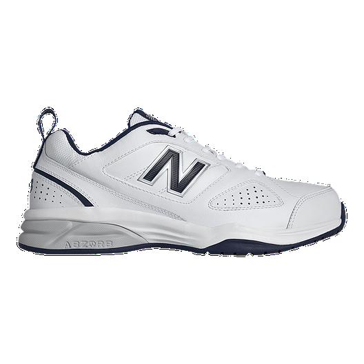 900663704ab New Balance Men's MX623 V3 2E Wide Width Training Shoes - White