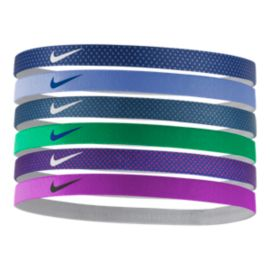 Nike Printed Headbands Assorted-6-Pack