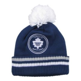 Toronto Maple Leafs Big Man Hi Five Pom Beanie