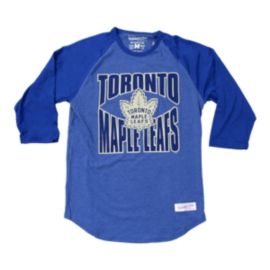Toronto Maple Leafs Team Practice 3/4 Raglan Top