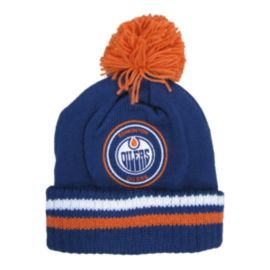 Edmonton Oilers Big Man Hi Five Pom Beanie
